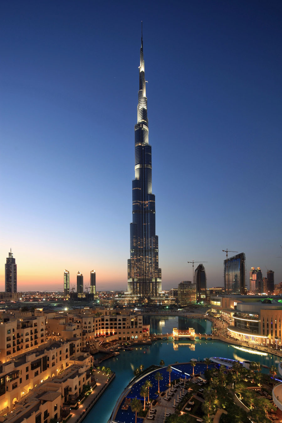 Burj khalifa dubai tallest building in the world 16 for Dubai hotels near burj khalifa