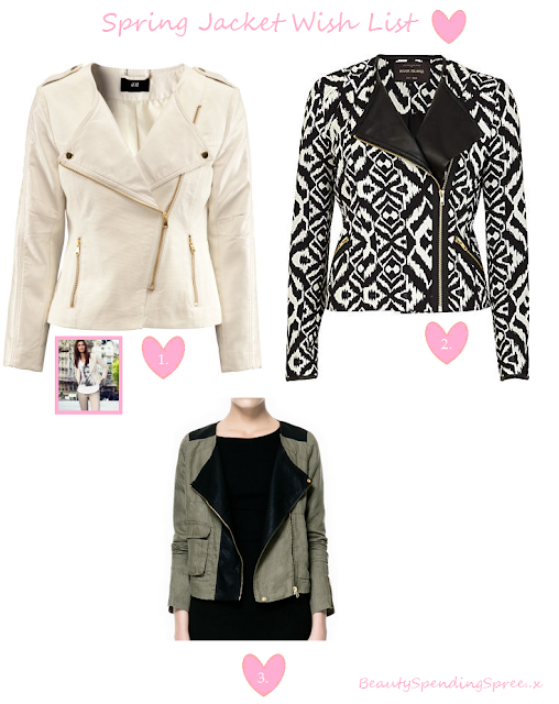 Spring jackets uk fashion blog