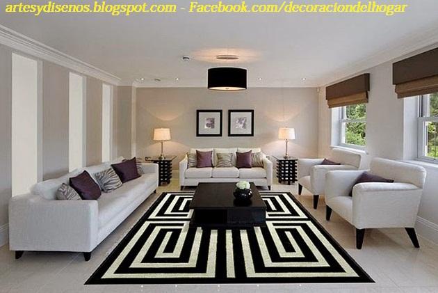 Alfombras para decorar salas decoraci n del hogar for Imagenes alfombras modernas