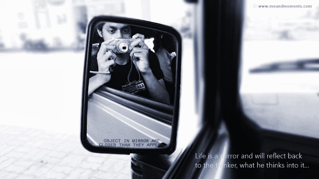 life quotes, life is mirror, mirror quotes