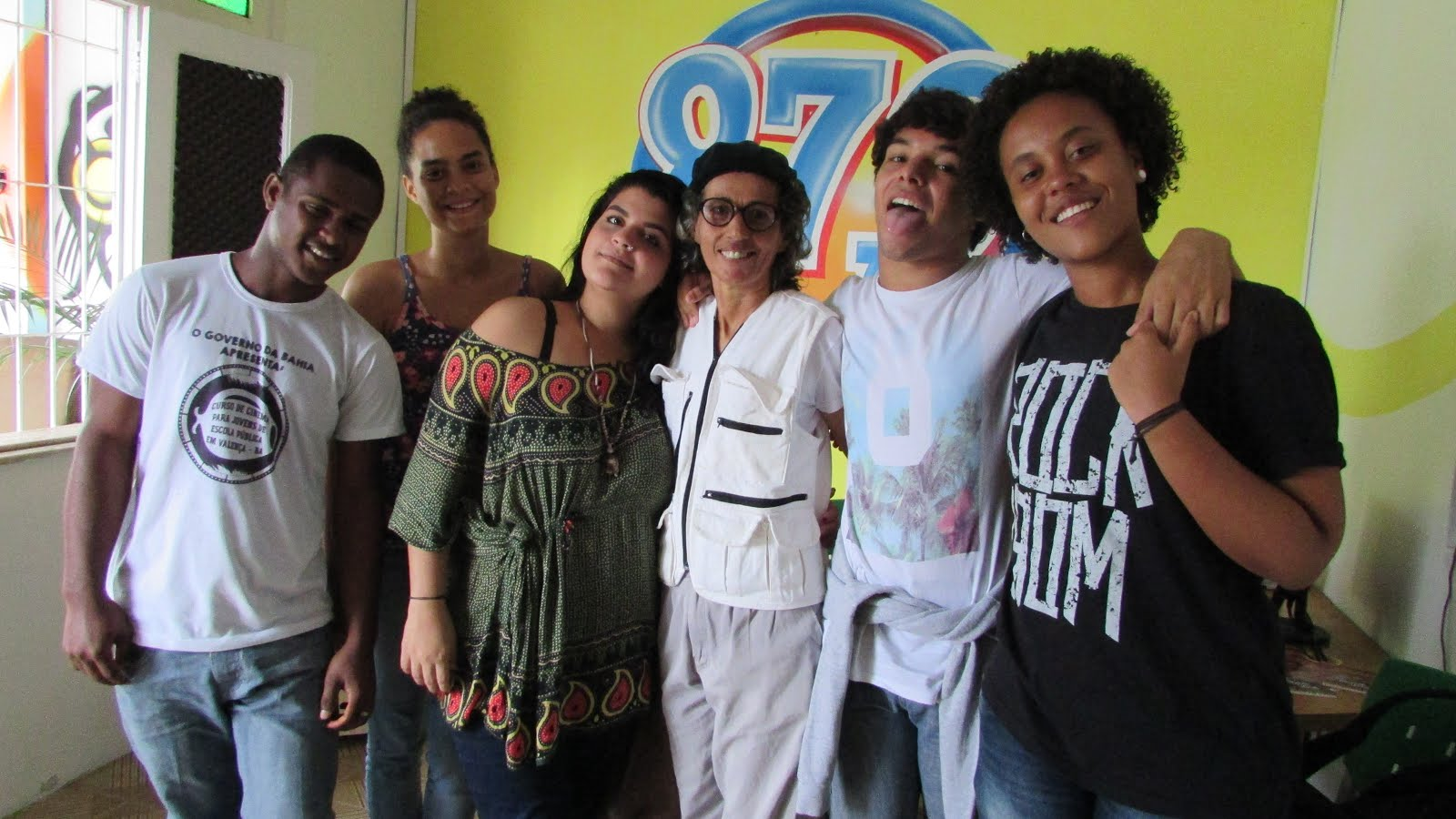 Estudantes do Curso de Cinema no Alacazum