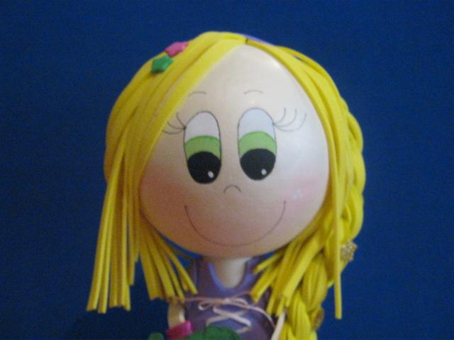 Fofucha Fiesta Rapunzel 2012 Decoracion Y Recordatorios Artesan  As