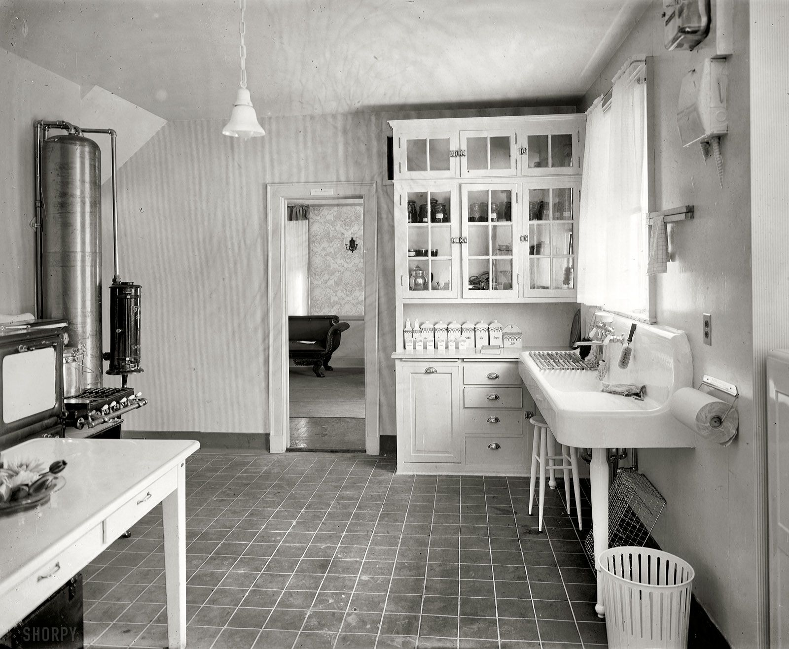 Laurelhurst craftsman bungalow period kitchen photographs for Bathroom design 1930 s home