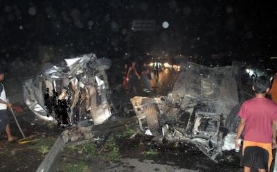 Foto Kecelakaan Maut Dul Anak Ahmad Dhani