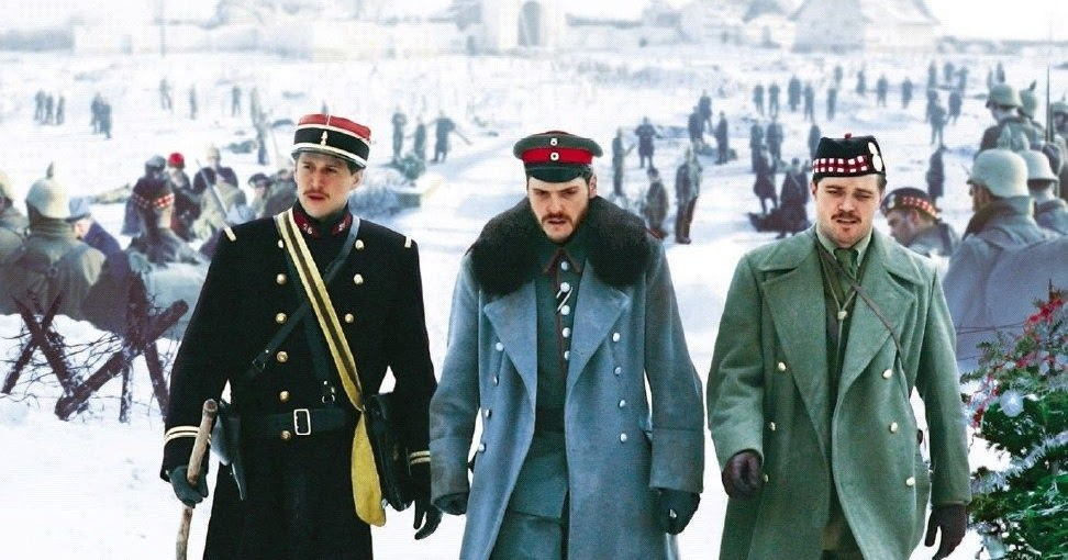 FilmSnork: Review: Joyeux Noel (2005) - 12 Days of Christmas Movies #3