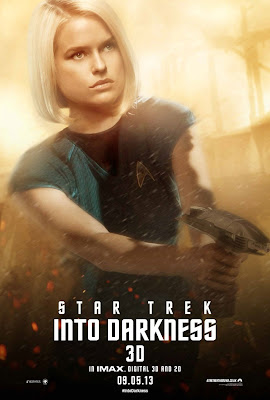Star Trek Into Darkness Character Portrait Theatrical One Sheet Movie Poster Set - Alice Eve as Dr. Carol Marcus