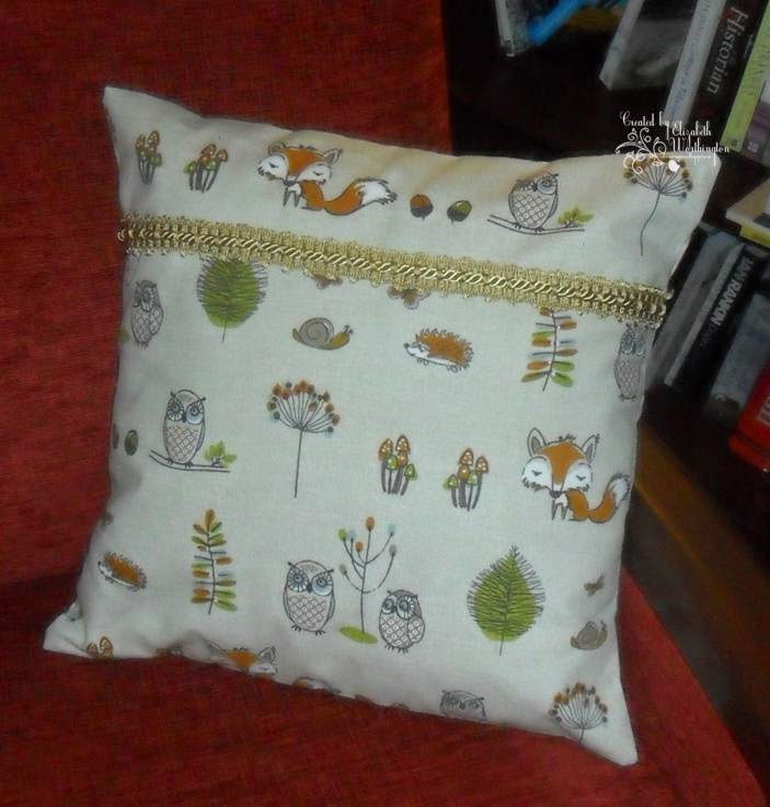 The silverscrapper 39 s craft space woodland fox and for Space fabric dunelm