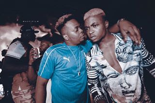 Olamide and DJ Enimoney