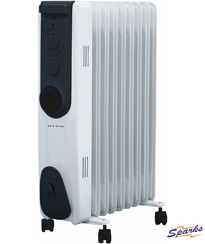Riviera Oil Filled Radiator for Quick Heating Indoors