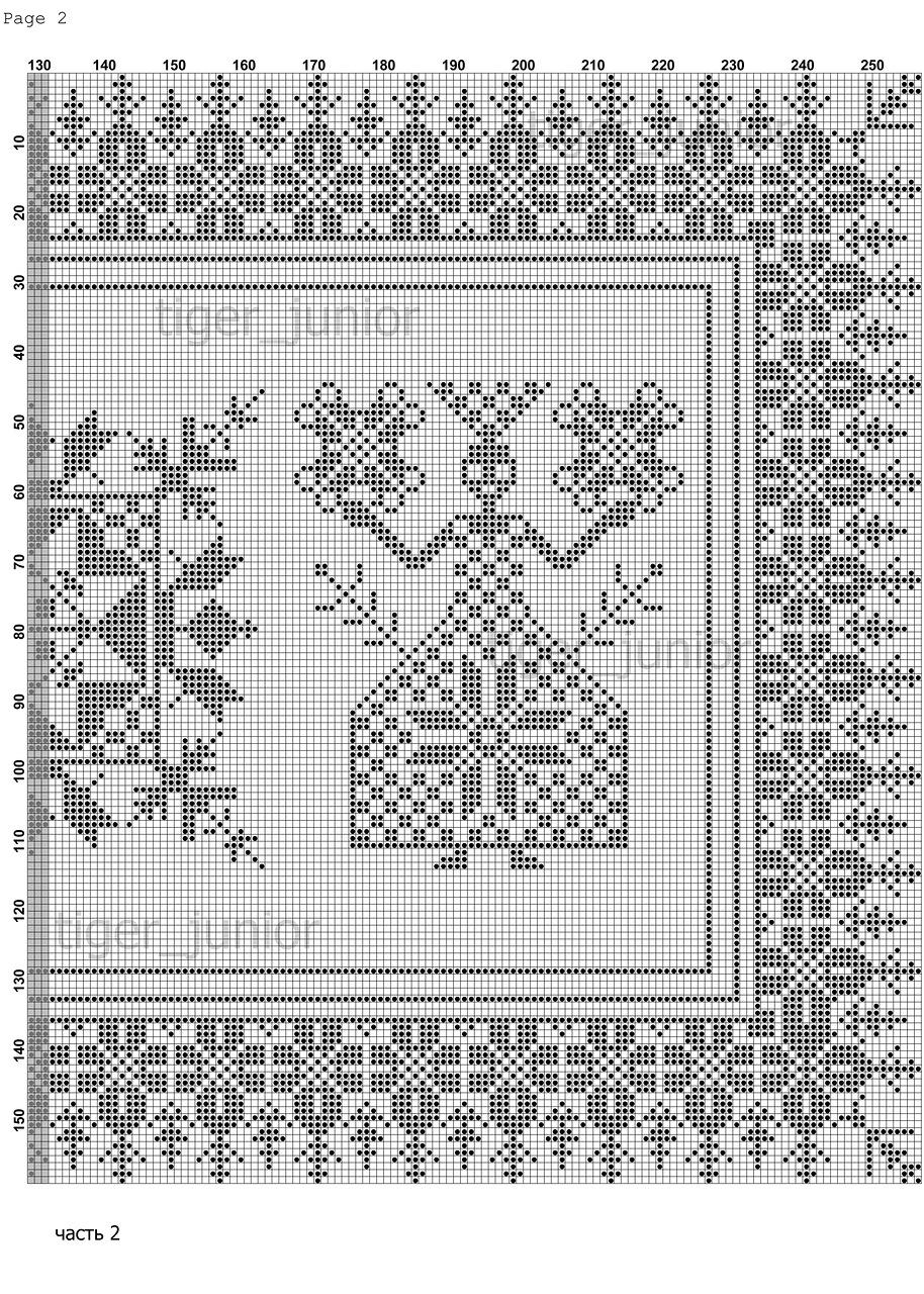 Схемы вышивка берегиня