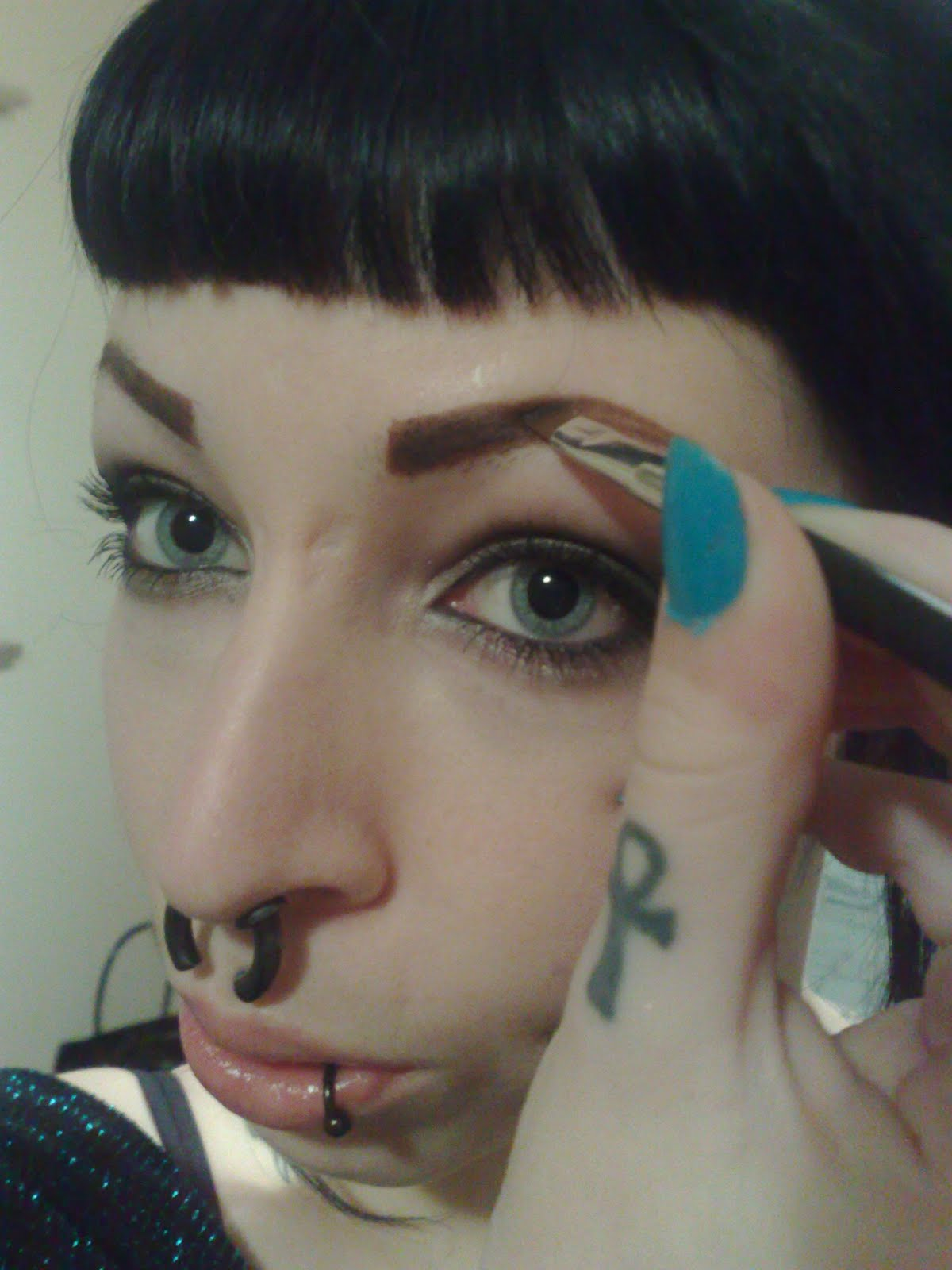 Natural Eyebrows Tutorial How To Pencil In Your Brows Tentacles