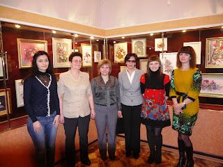 выставка работ вышитых лентами в Армавирском краеведческом музее