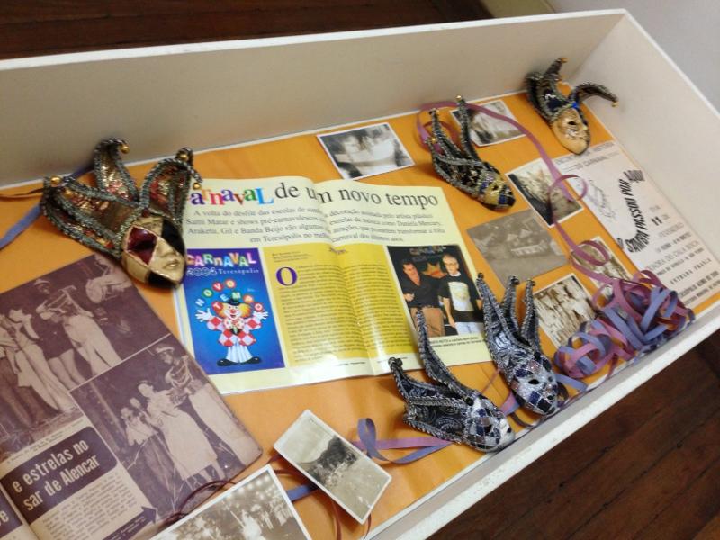 A exposição Memórias do Carnaval pode ser vista na Casa da Memória Arthur Dalmasso