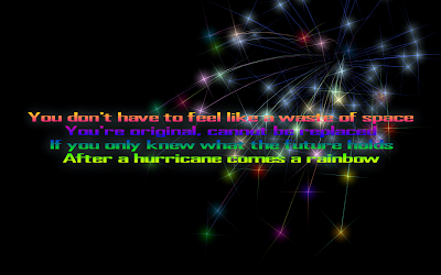 Firework - Katy Perry Song Lyric Quote in Text Image