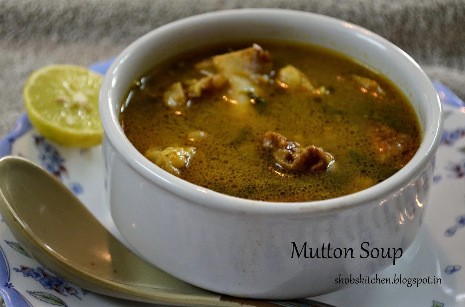 Mutton Soup Shobskitchen