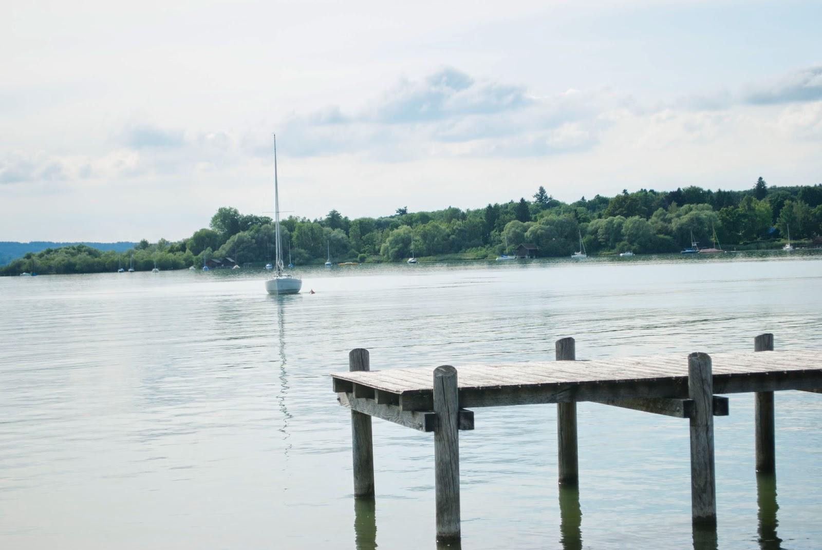 Sommer dahoam: Ausflug an den Ammersee Sommer München Minga Bayern bayerische Seen Strandbad Seewinkel Munich Hupsis Serendipity Sommerferien 2014