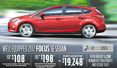 Ford Focus Canada