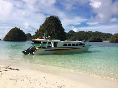 Rental Boat Raja Ampat