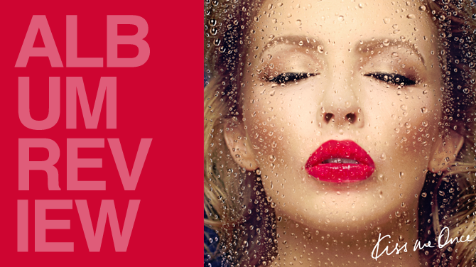 Album review: Kylie Minogue - Kiss me once | Random J Pop