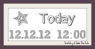 Today 12.12.12