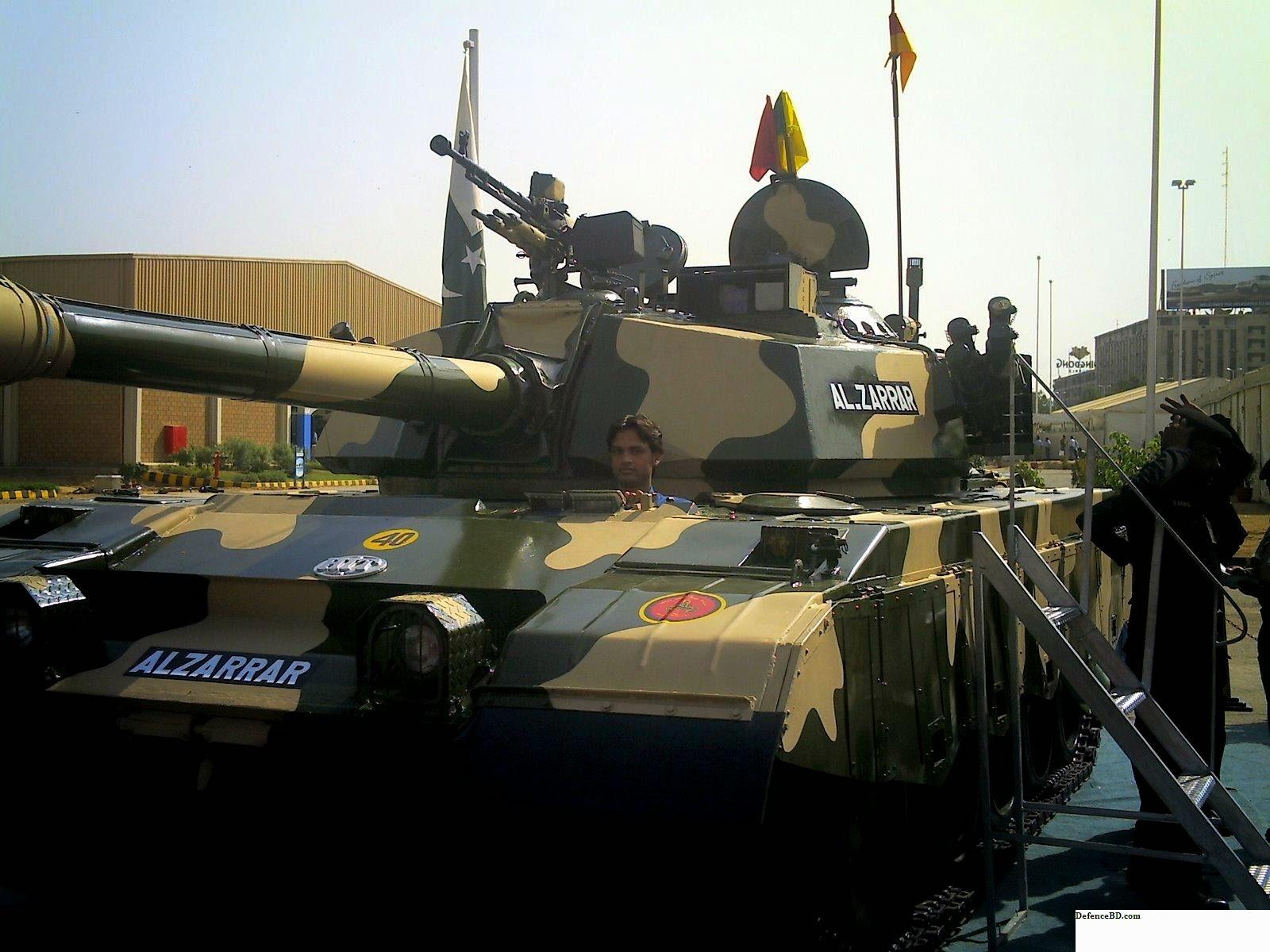 Al Zarrar Tank Bangladesh