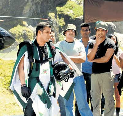 Salman Khan does Stunts in Mountain Dew Ad