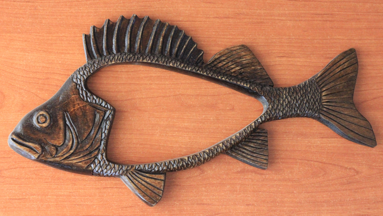 Фоторамка для рыбака Окунь