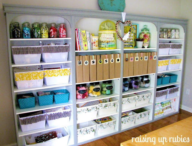 31 days of organizing tips day 24 craft supplies from for Craft supplies organization ideas