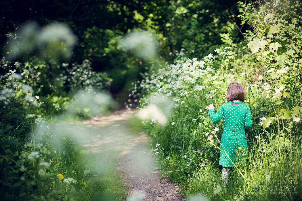 Outdoor child photography London
