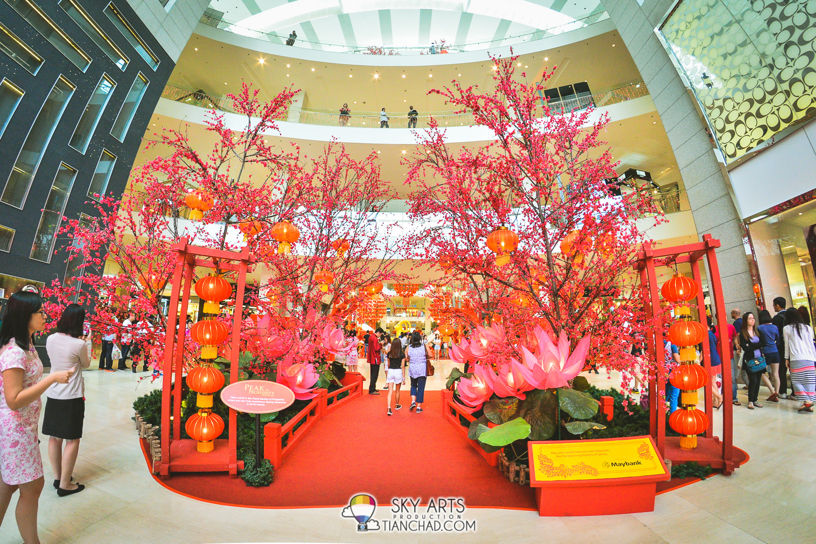 Floral Garden of Prosperity at Pavilion KL