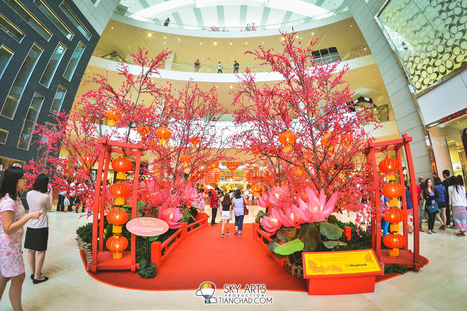Floral Garden of Prosperity at Pavilion KL