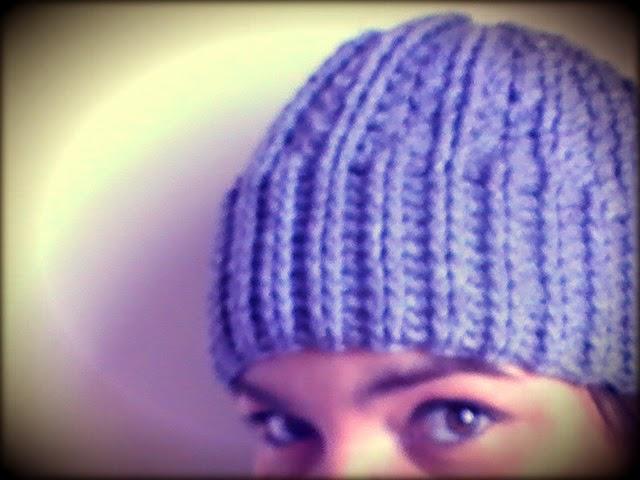 Gorro a ganchillo unisex y con punto elástico doble   Margarita Knitting