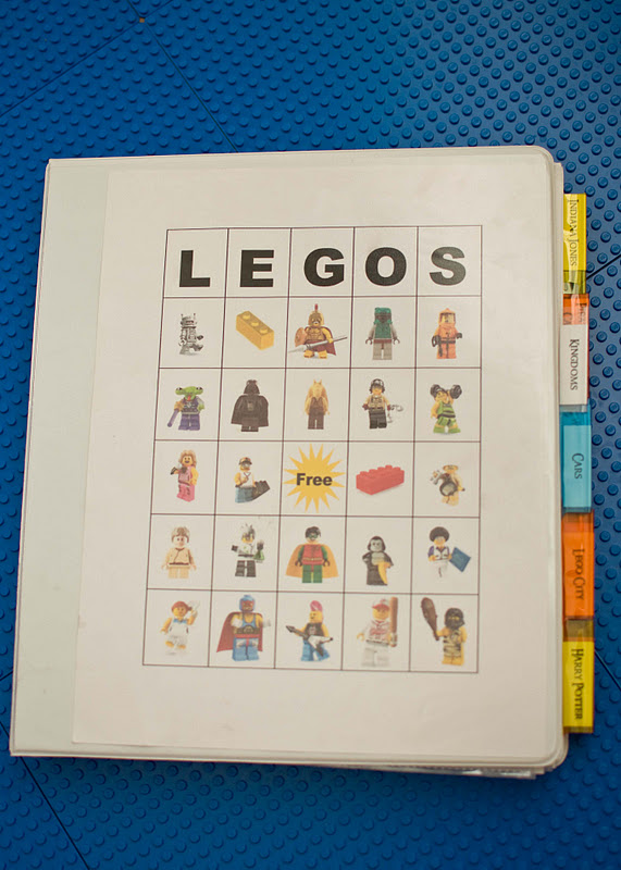 Lego Instructions Organizing Book Over The Big Moon