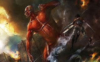 ATTACK ON TITAN -ataque dos titãs