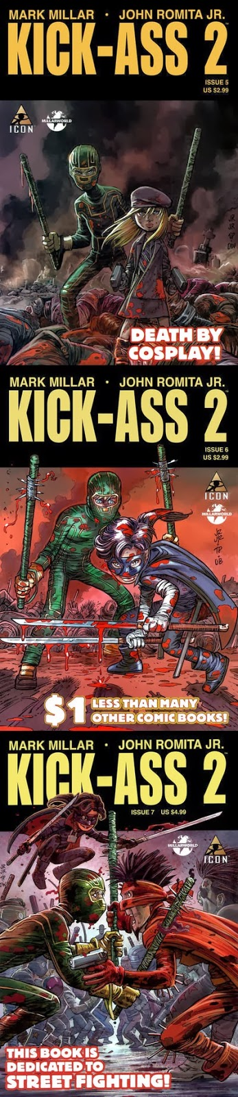 KICK-ASS 2 - Mark Millar Romita Jr.