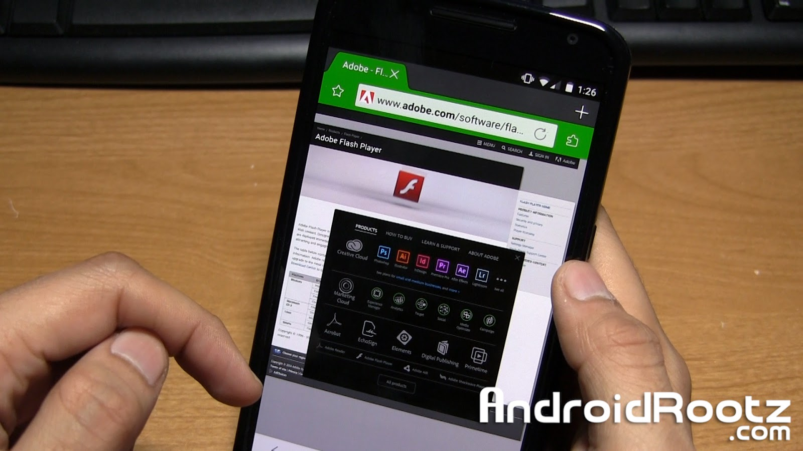 adobe flash player android 7.0
