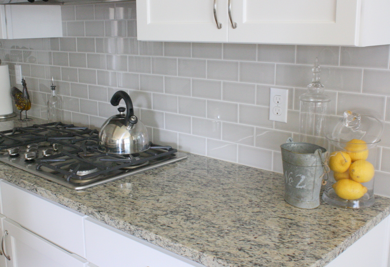 the grey subway tile backsplash oh man i love the grey subway tile