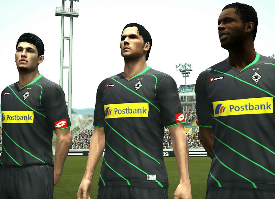 Gladbach 11/12 Away Kit by jamgmount