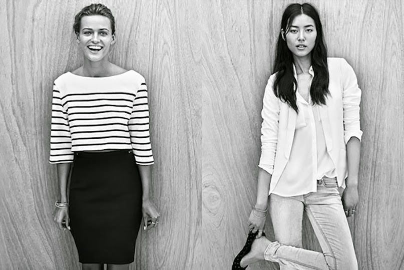 Who-What-Wear-Blog-HM-Spring-2014-Basics-Liu-Wen