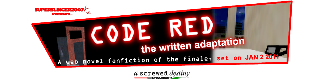 CODE RED: the written adaptation