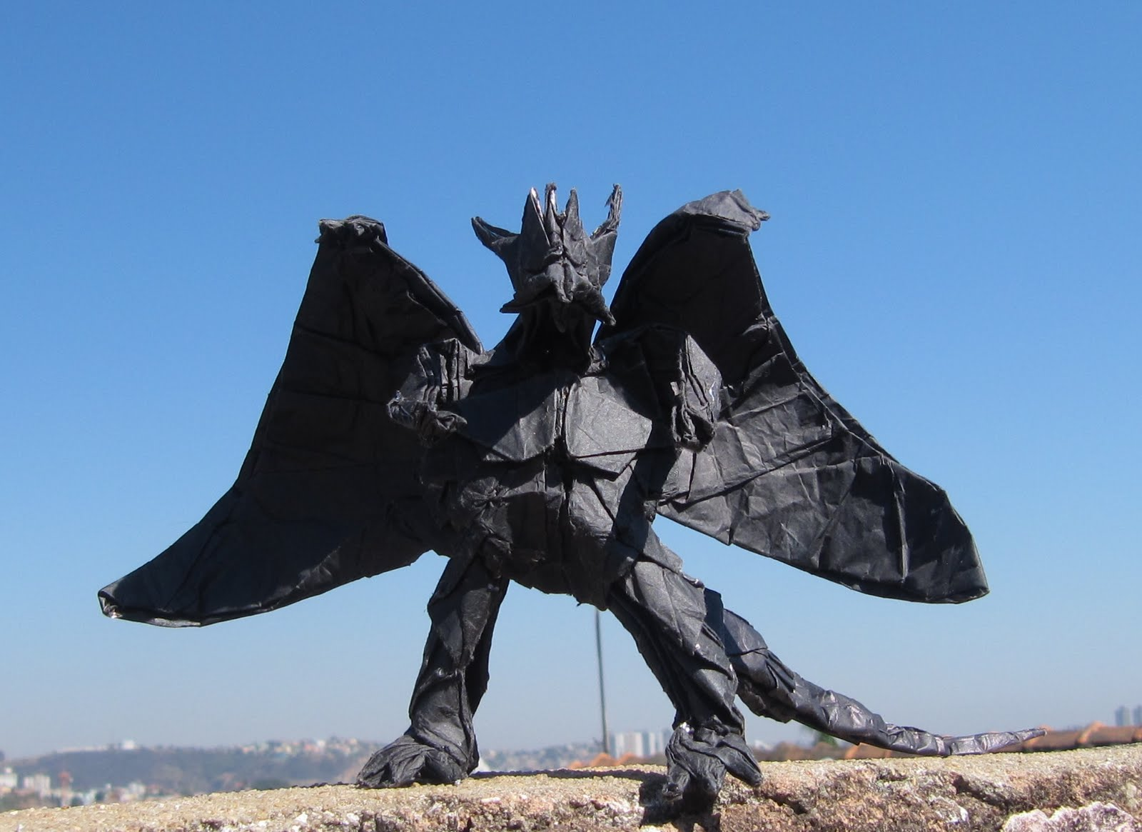 XPUP  Origami Bahamut  Divine Dragon  - Satoshi KamiyaOrigami Divine Dragon
