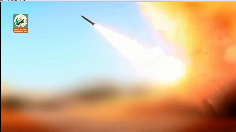 كتائب القسام تعرض فيديو لراجمة صواريخ تستخدم لأول مرة