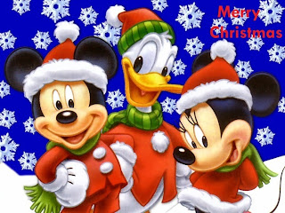 Mickey Mouse as Santa Claus Christmas 2015 Clip Art