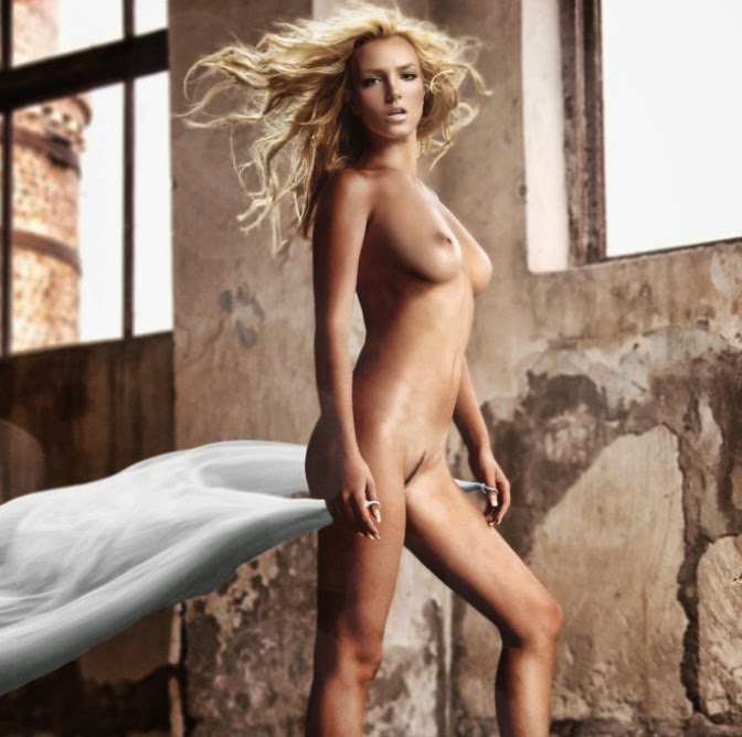 Britney Spears Nude Full Frontal Picture – Fake