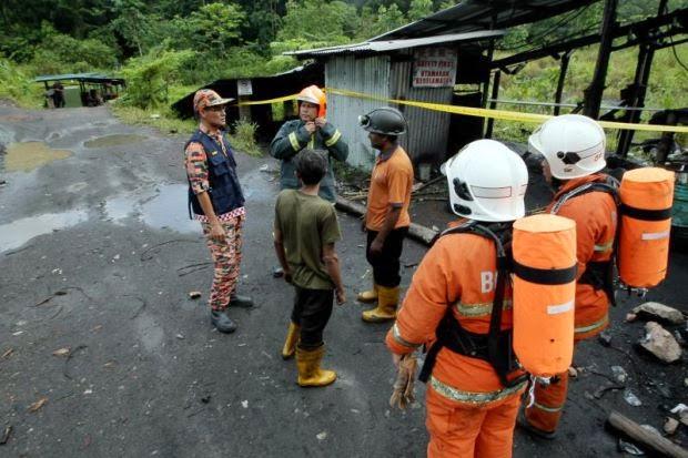 Letupan Lombong Arang Batu Di Sarawak