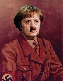 """Angela Merkel: Um """"Hitler"""" de saias? Em meio a crise européia, Alemanha se fortalece e se transformará no Quarto Reich"""
