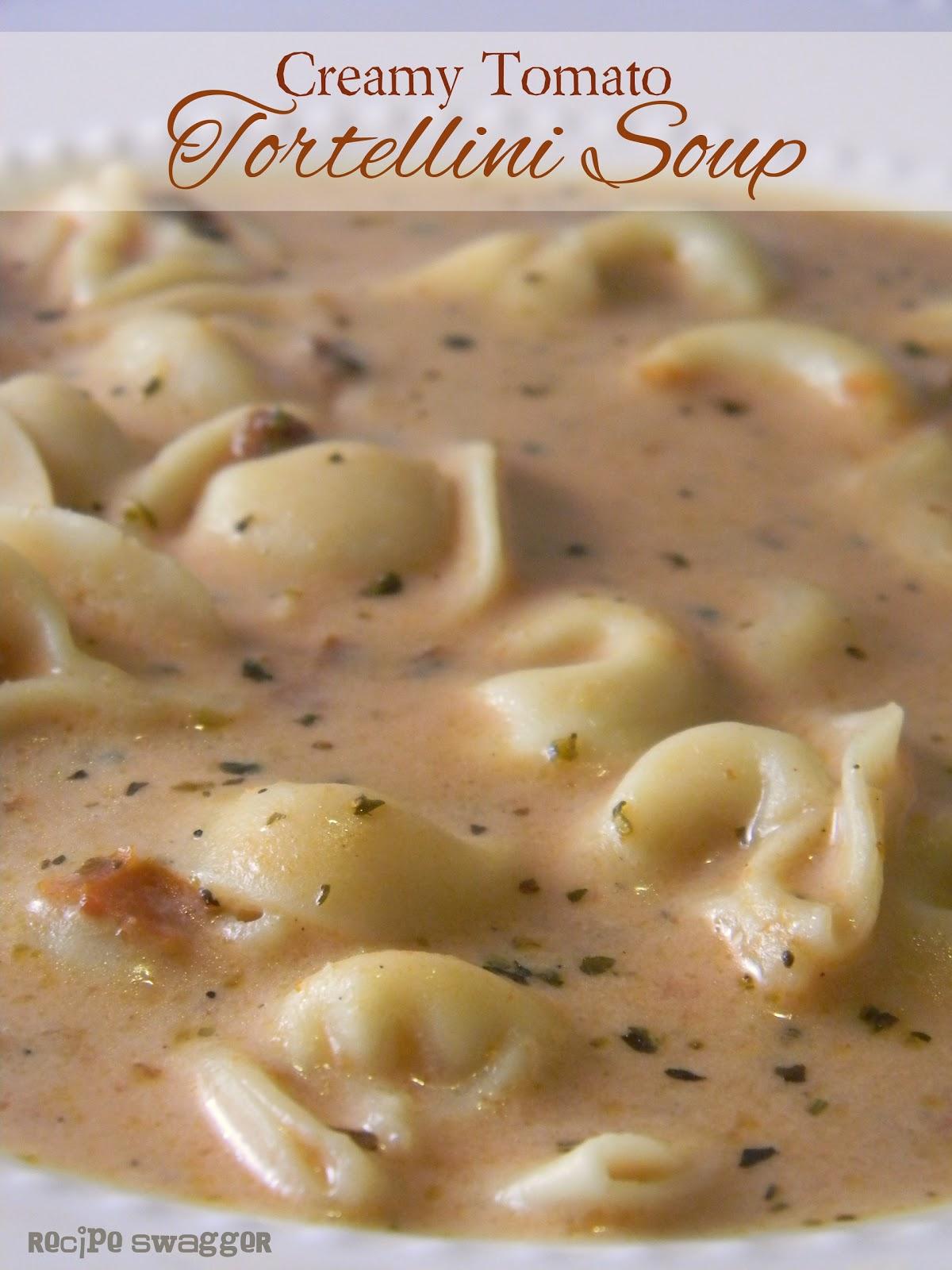 Recipe swagger creamy tomato tortellini soup