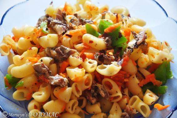 Sardine pasta salad recipe