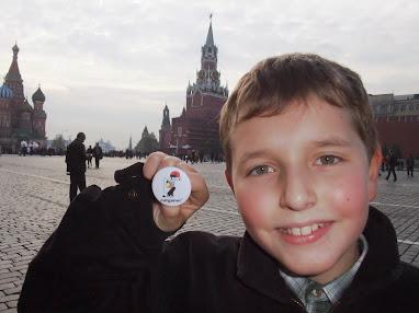 Des de la Plaça Roja de Moscou.