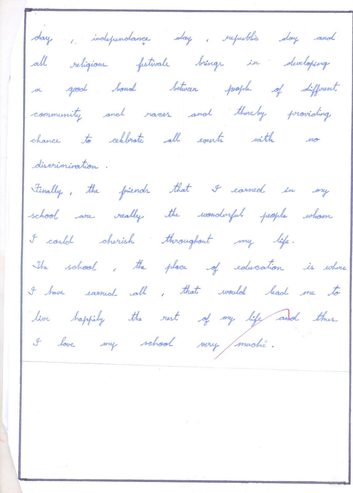 Personal Essay Samples For High School Why Do I Like My School Essay New Modern Vidhya Mandir Higher Secondary  School Write A Remembering My First Day  How To Write A College Essay Paper also English Literature Essay Structure Upward Bound  Uc Personal Statement My First Day At School Essay  The Importance Of English Essay